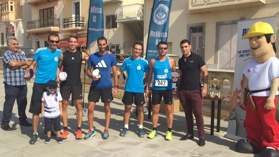 1st Male team Big Mat Mgarr 2016