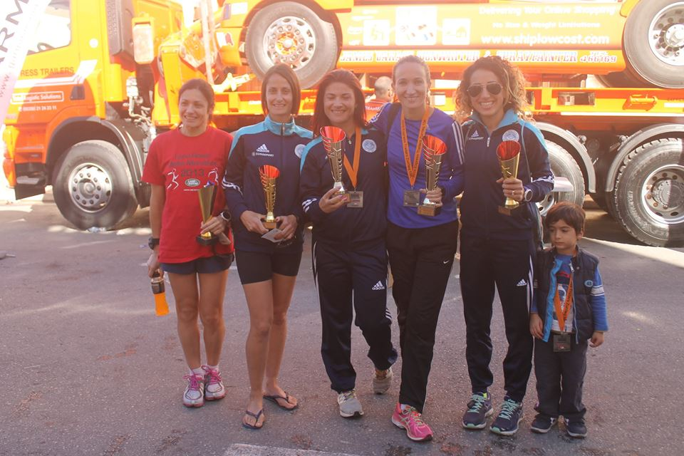 Ladies Team Winners Zurrieq 2016
